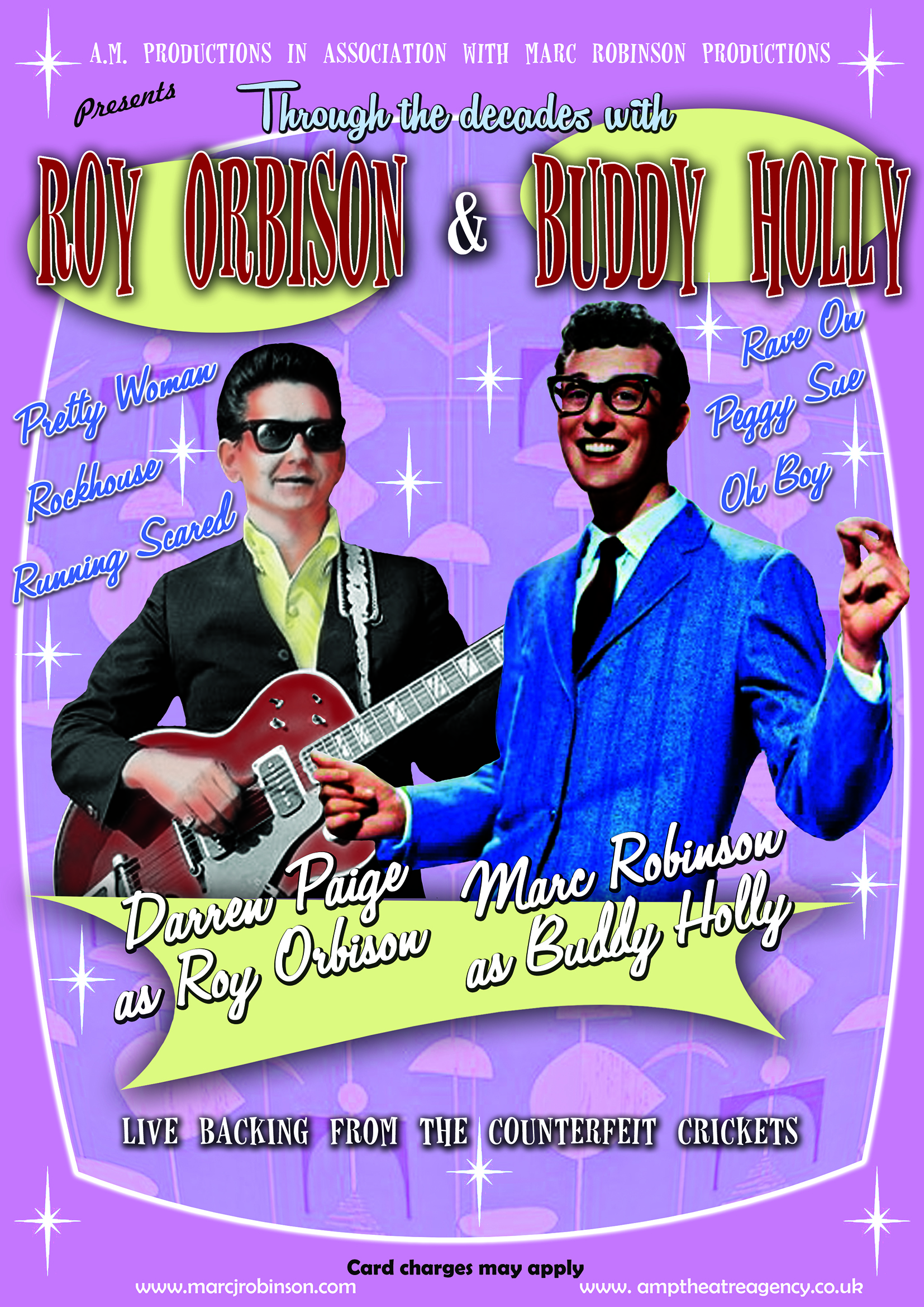 Roy Orbison n Buddy Holly Show without box