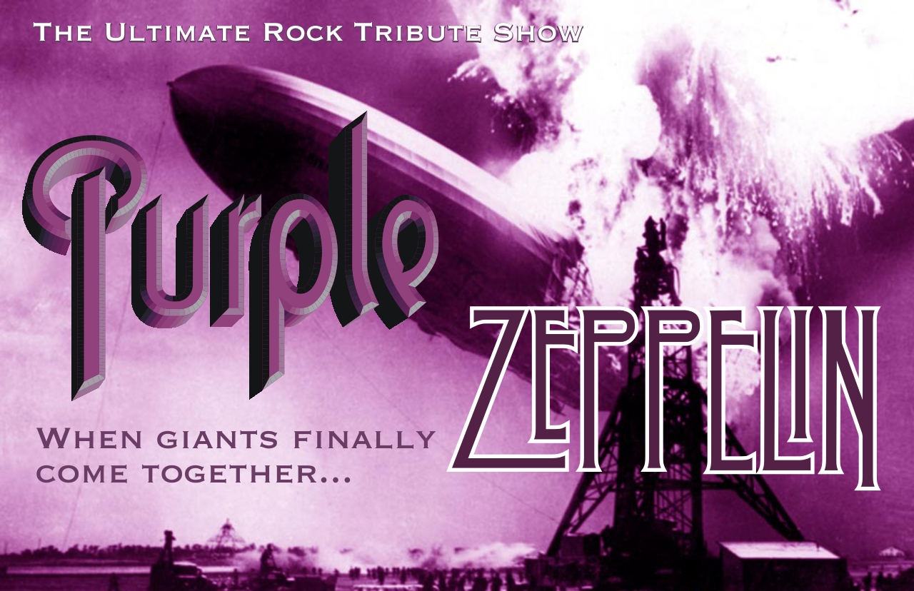 Purple Zeppelin - landscape