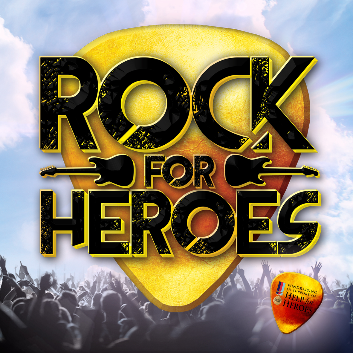 Rock For Heroes - Square